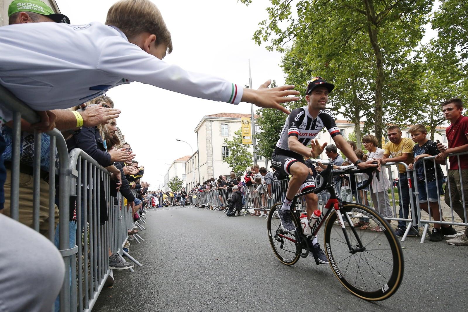 Tour de France 2018 EPA/SEBASTIEN NOGIER