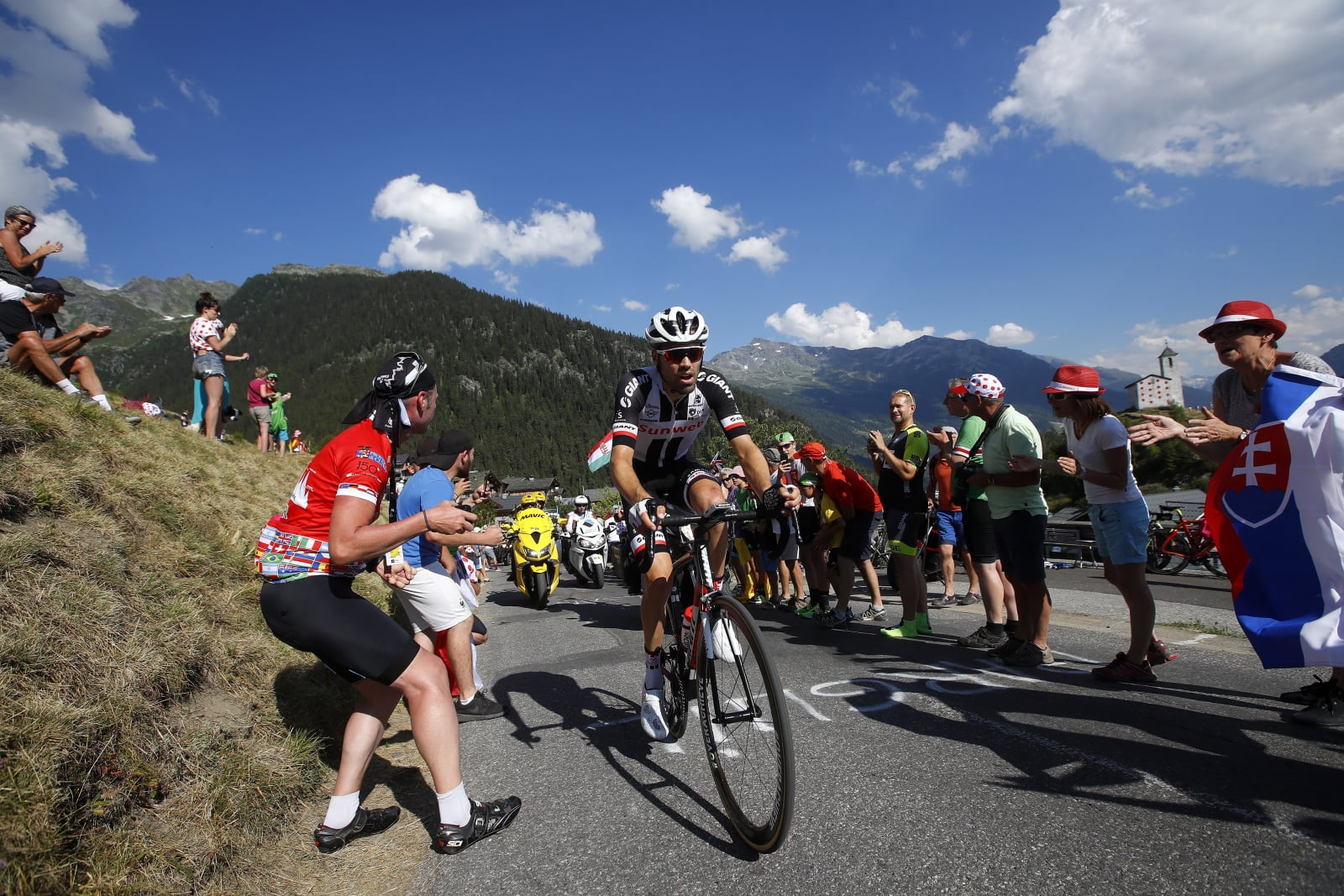 Tour de France  EPA/KIM LUDBROOK