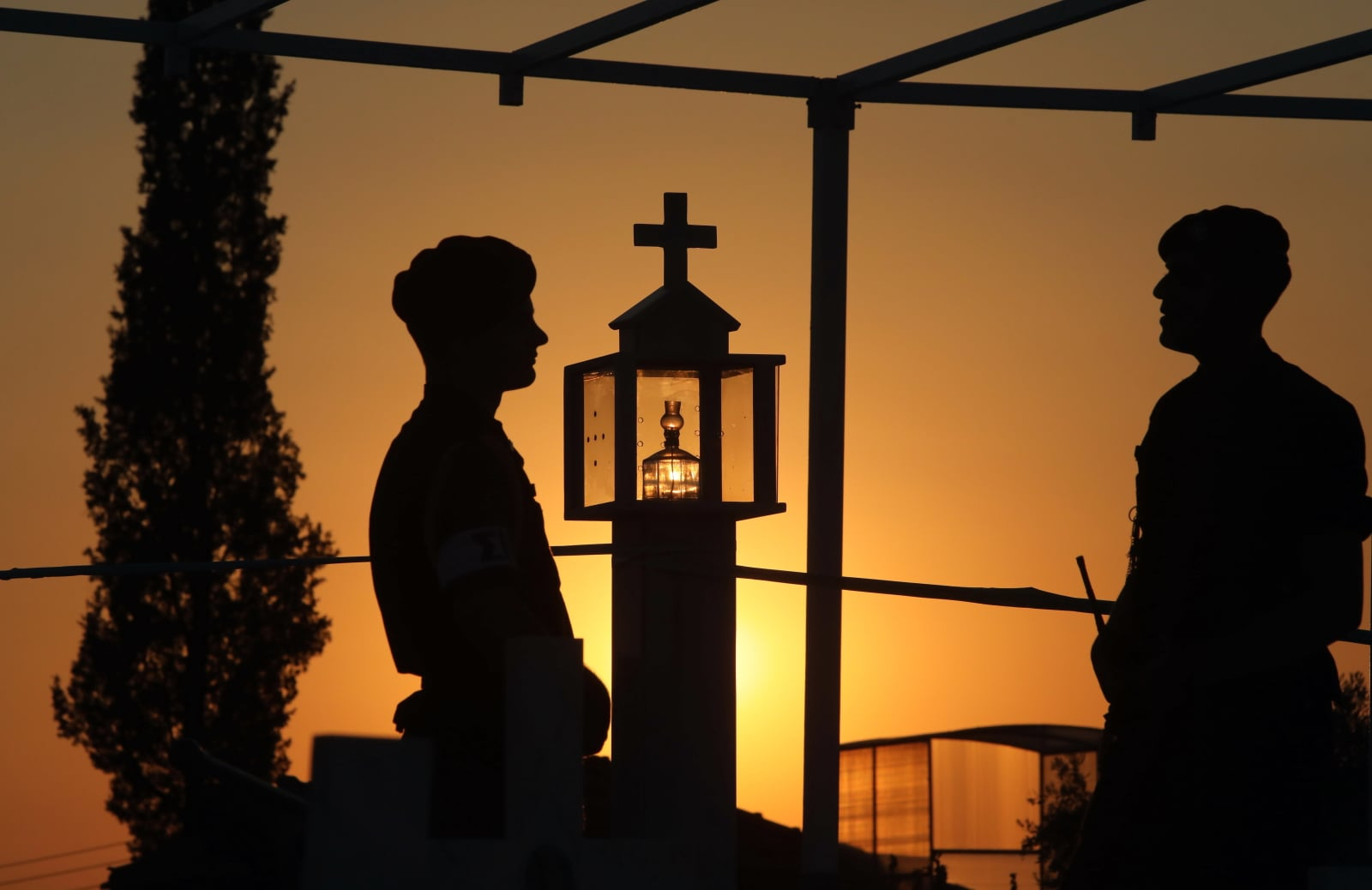 Upamietnienie cypryjskich żołnierzy EPA/KATIA CHRISTODOULOU