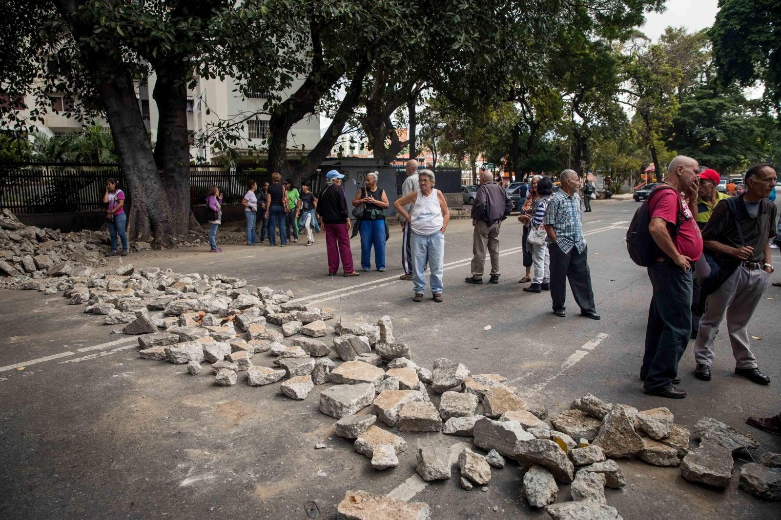 Kryzys w Wenezueli EPA/Miguel Gutierrez
