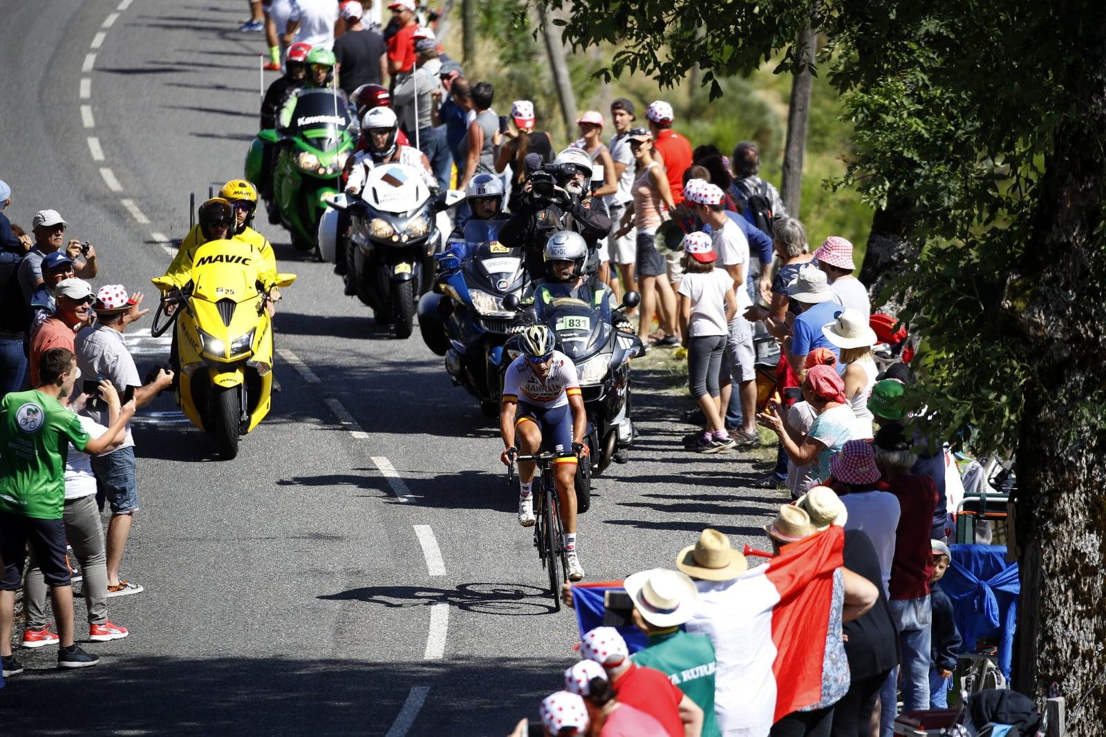 Tour de France 2018 fot. EPA/KIM LUDBROOK