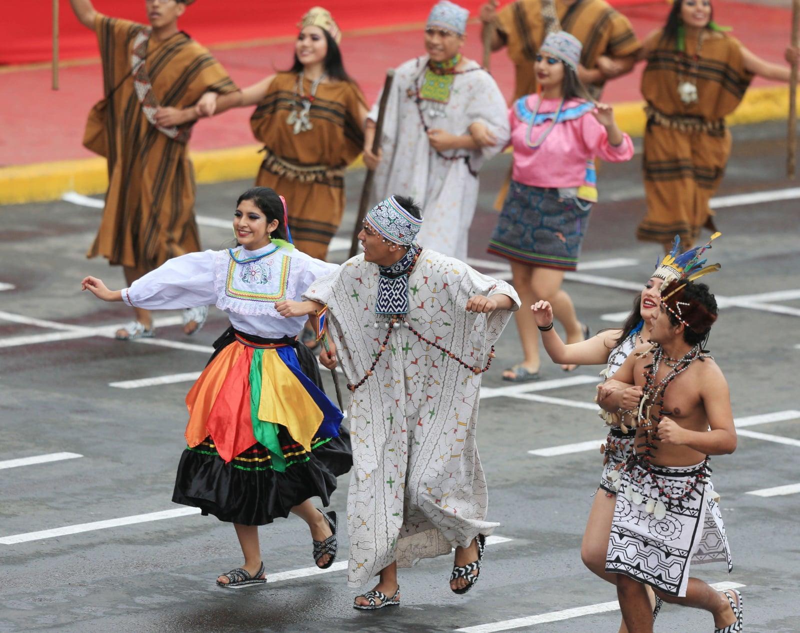 Tak Peruwiańczycy świętowali dzisiaj Dzień Niepodległości w Limie