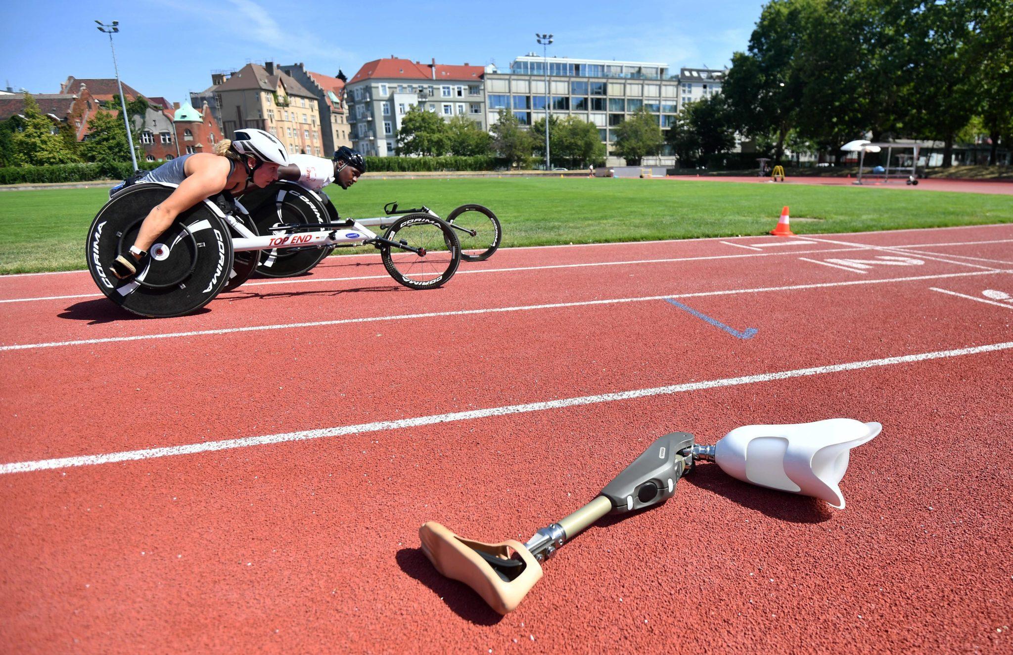 Mistrzostwami Europy w lekkiej atletyce osób niepełnosprawnych - World Para Athletics European Championships - Berlin 2018, fot. Bartłomiej Zborowski, PAP