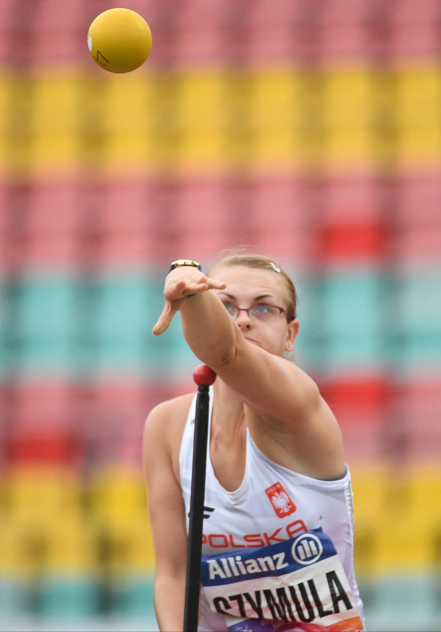Dorota Szymula w finale konkursu pchnięcia kulą