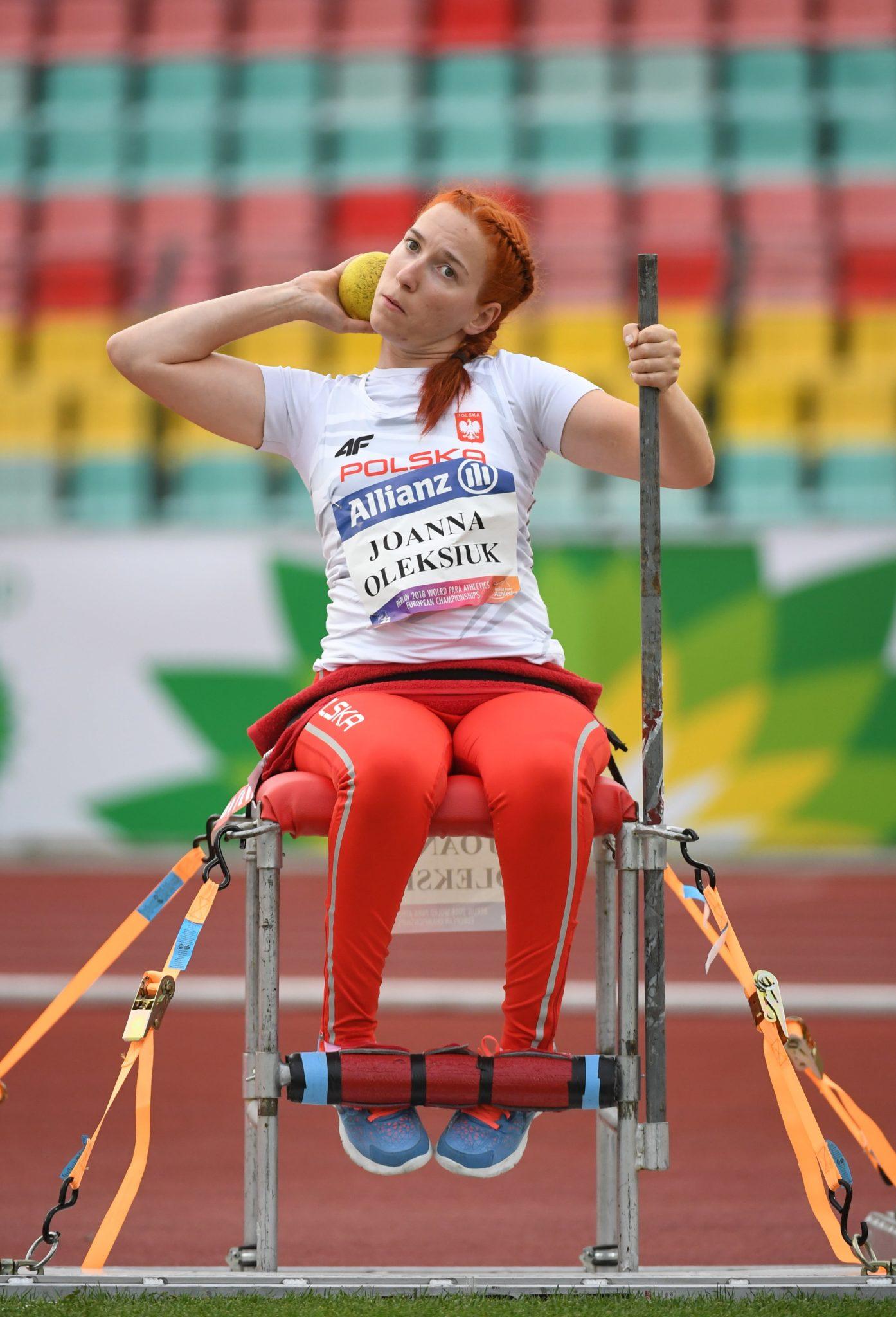 Joanna Oleksiuk w finale konkursu pchnięcia kulą