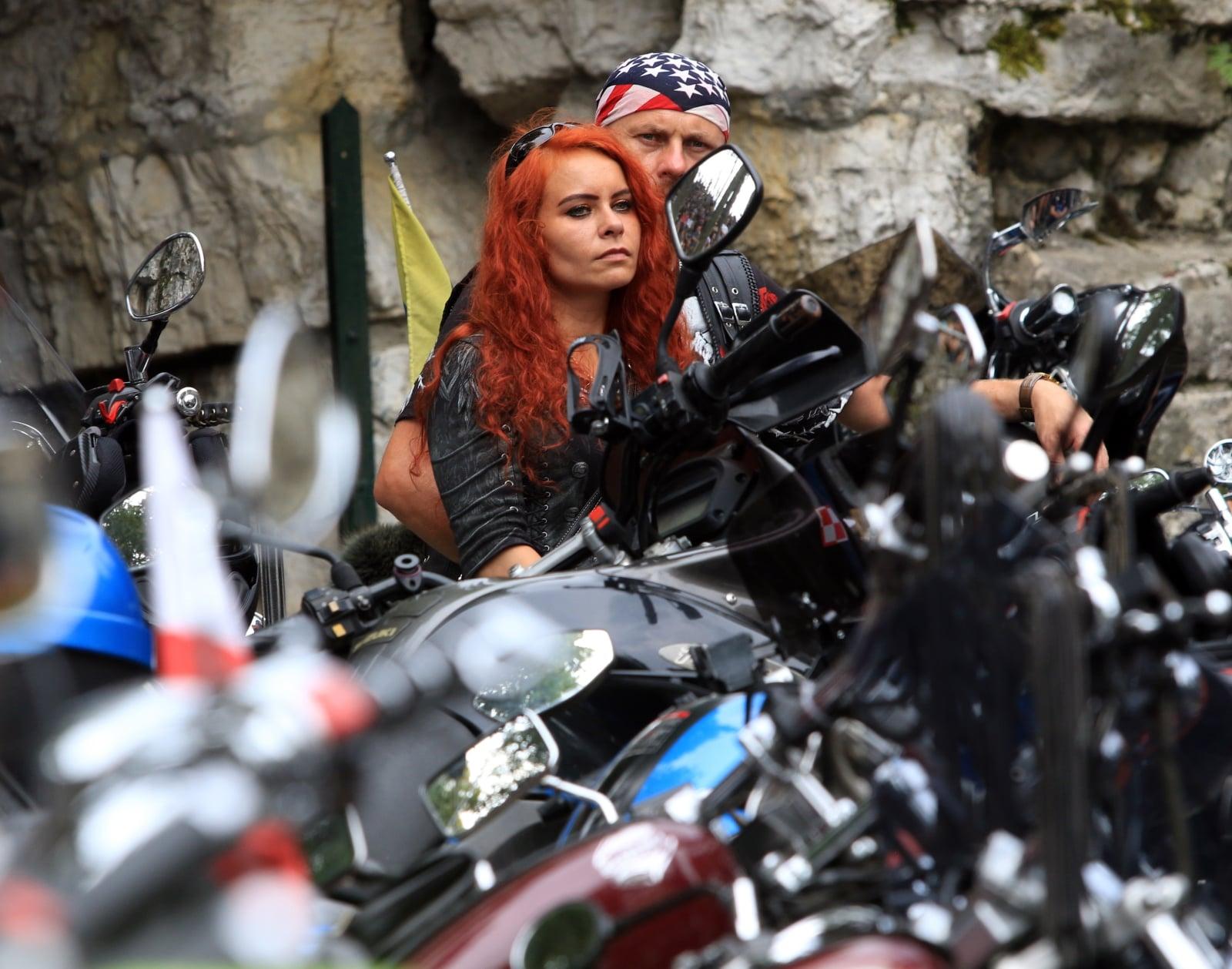 Pielgrzymka Motocyklistów na Górę Świętej Anny PAP/Krzysztof Świderski
