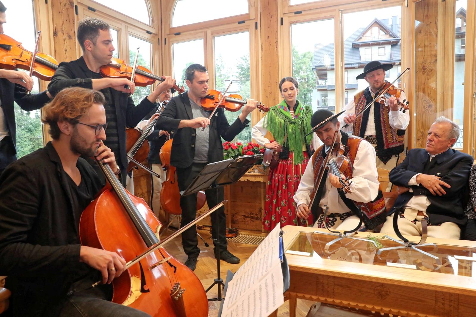 Międzynarodowy Festiwal Folkloru Ziem Górskich w Zakopanem. fot. PAP/Grzegorz Momot