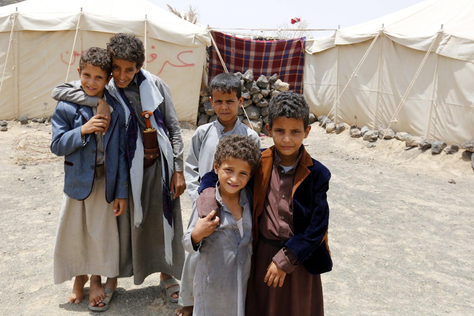 Wojna w Jemenie fot. EPA/YAHYA ARHAB