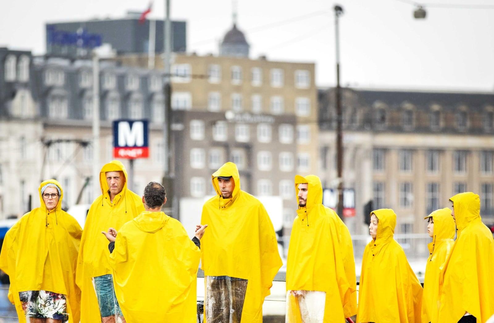 Pogoda w Amsterdamie fot. EPA/REMKO DE WAAL