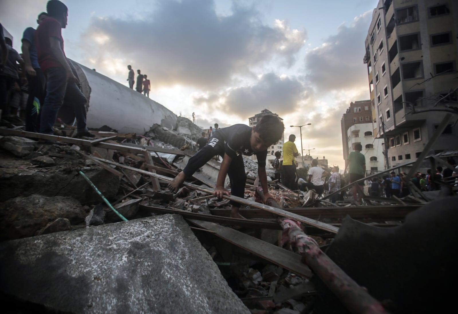 Konflikt w Strefie Gazy fot. EPA/HAITHAM IMAD