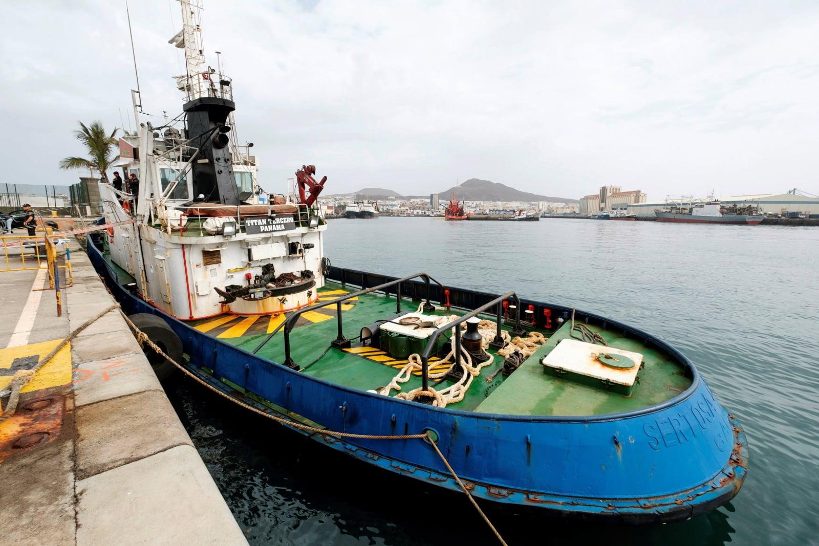 Przemyt narkotyków w Hiszpanii fot. EPA/ANGEL MEDINA G.
