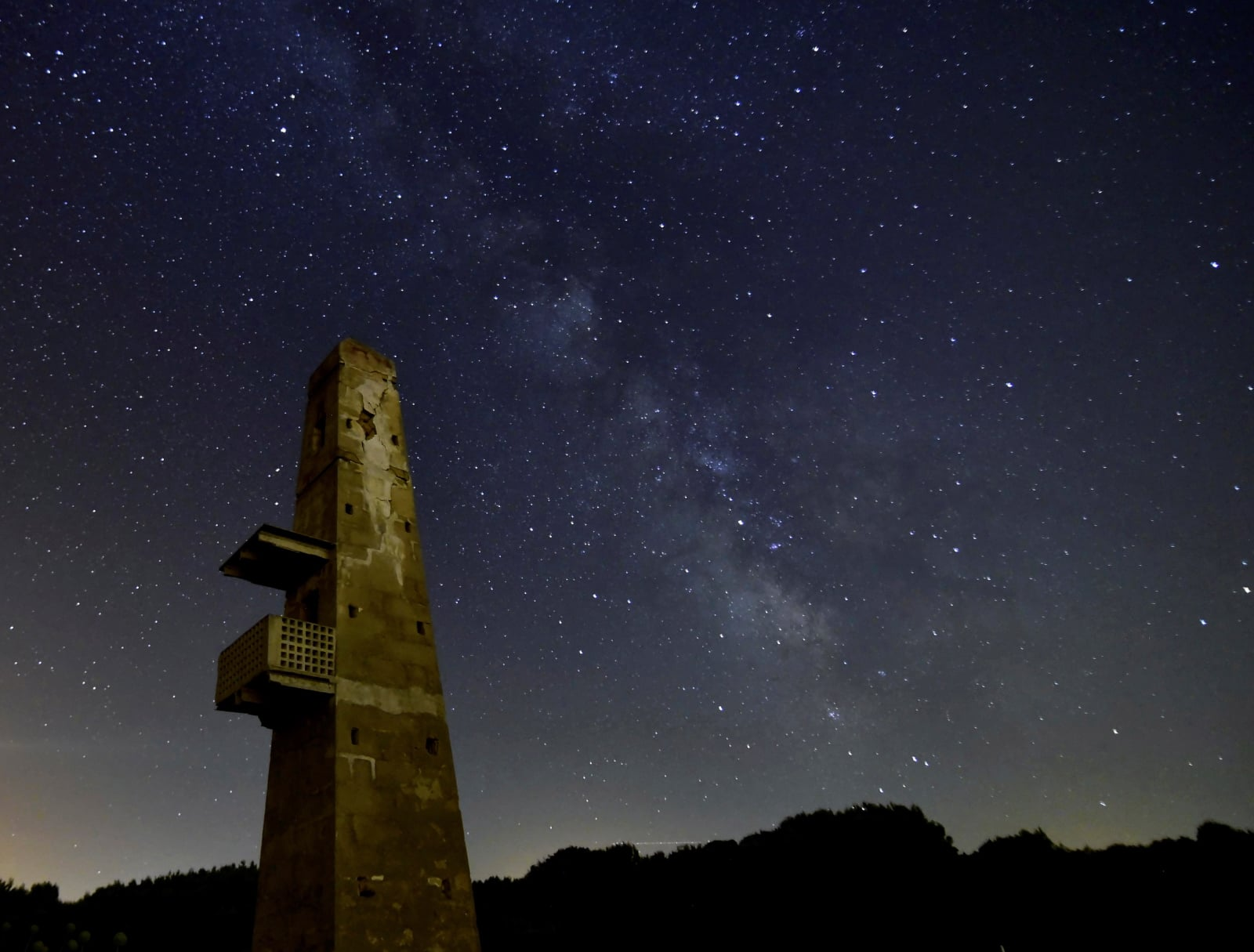 Deszcz meteorów w Hiszpanii fot. EPA/ATIENZA