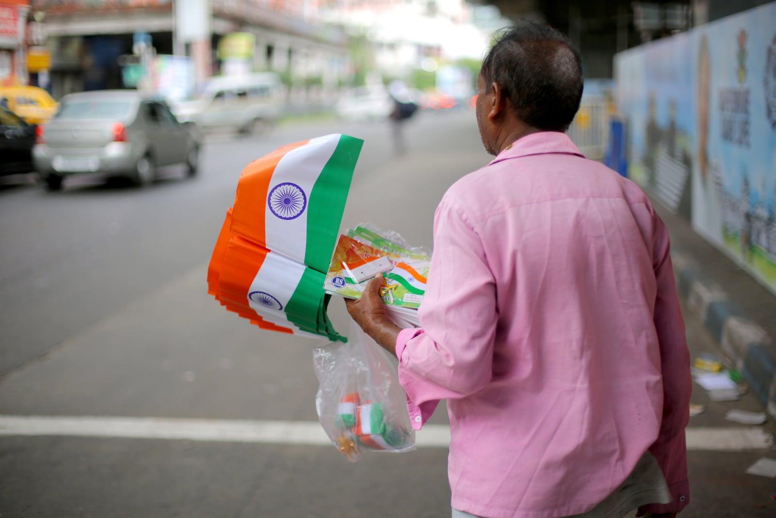 Dzień Niepodległości Indii fot. EPA/PIYAL ADHIKARY