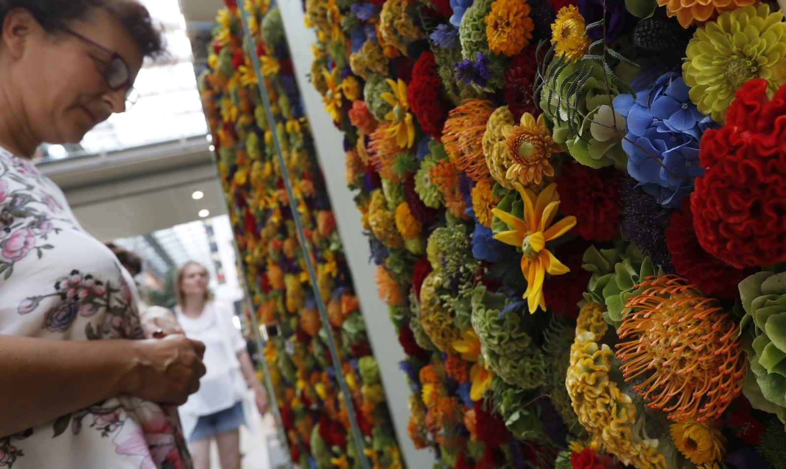 Florystyczne Mistrzostwa w Niemczech EPA/FELIPE TRUEBA