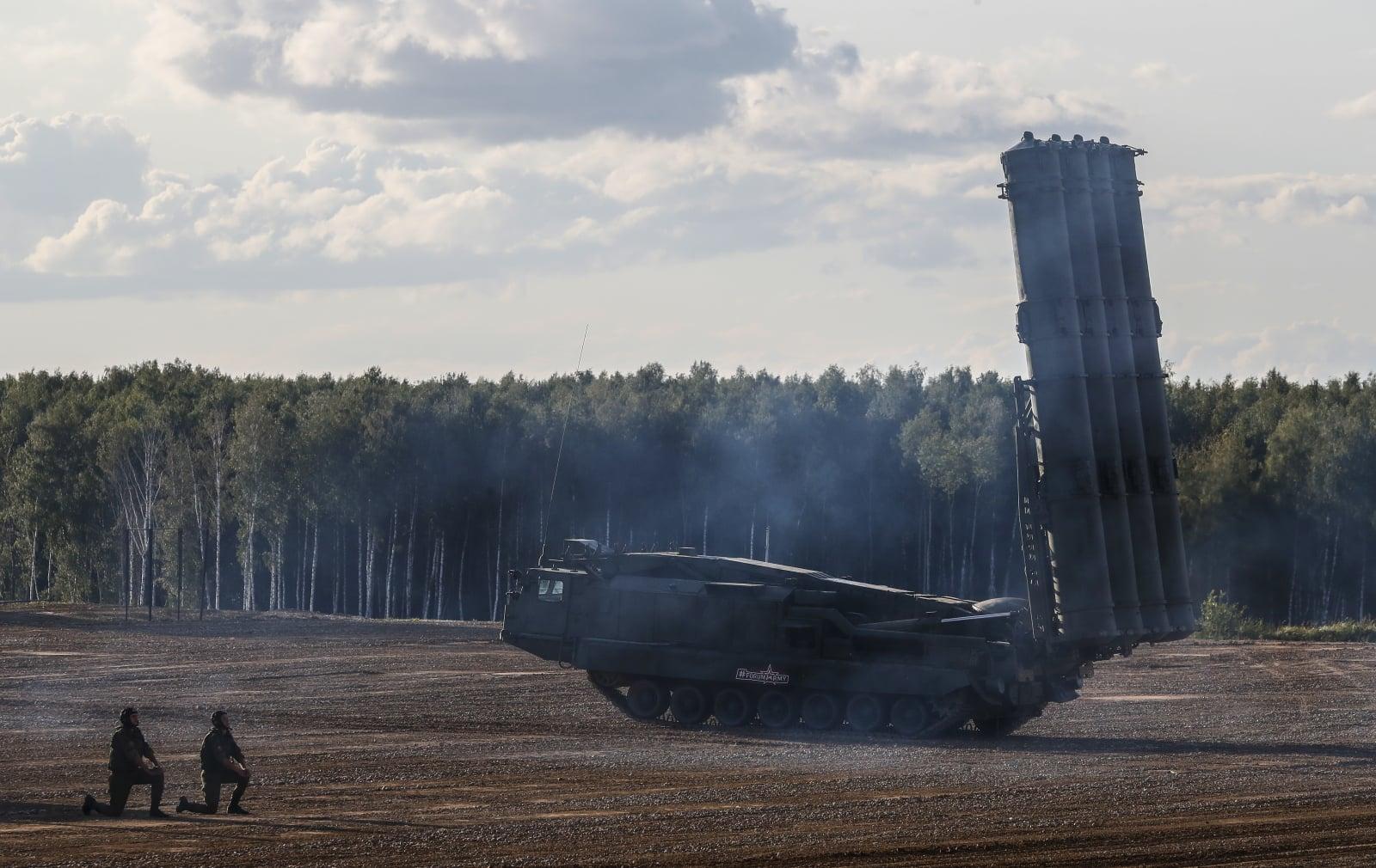 Rosyjskie systemy antyrakietowe. PAP/EPA/SERGEI ILNITSKY