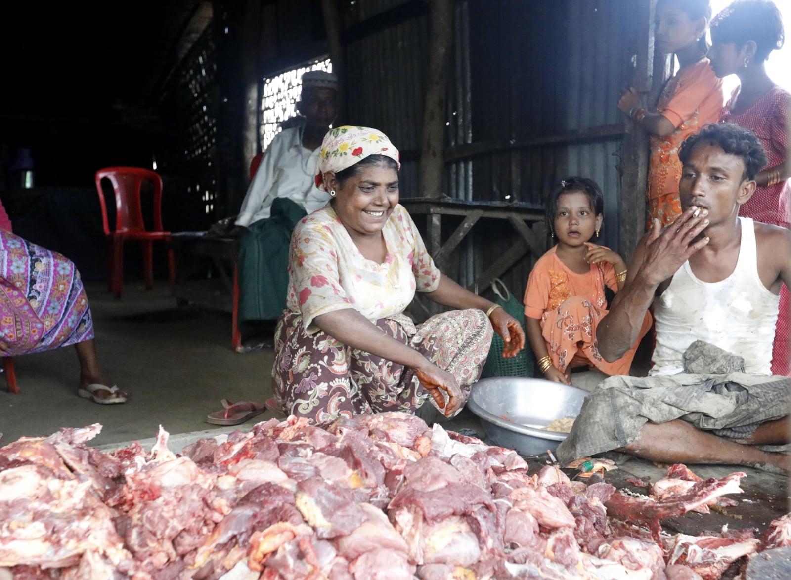 Islamskie święto Eid al-Adha w Mjanmie