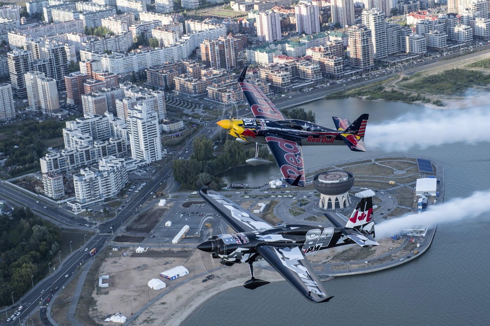 W Kazaniu odbywał się dzisiaj Red Bull Air Race World Championship