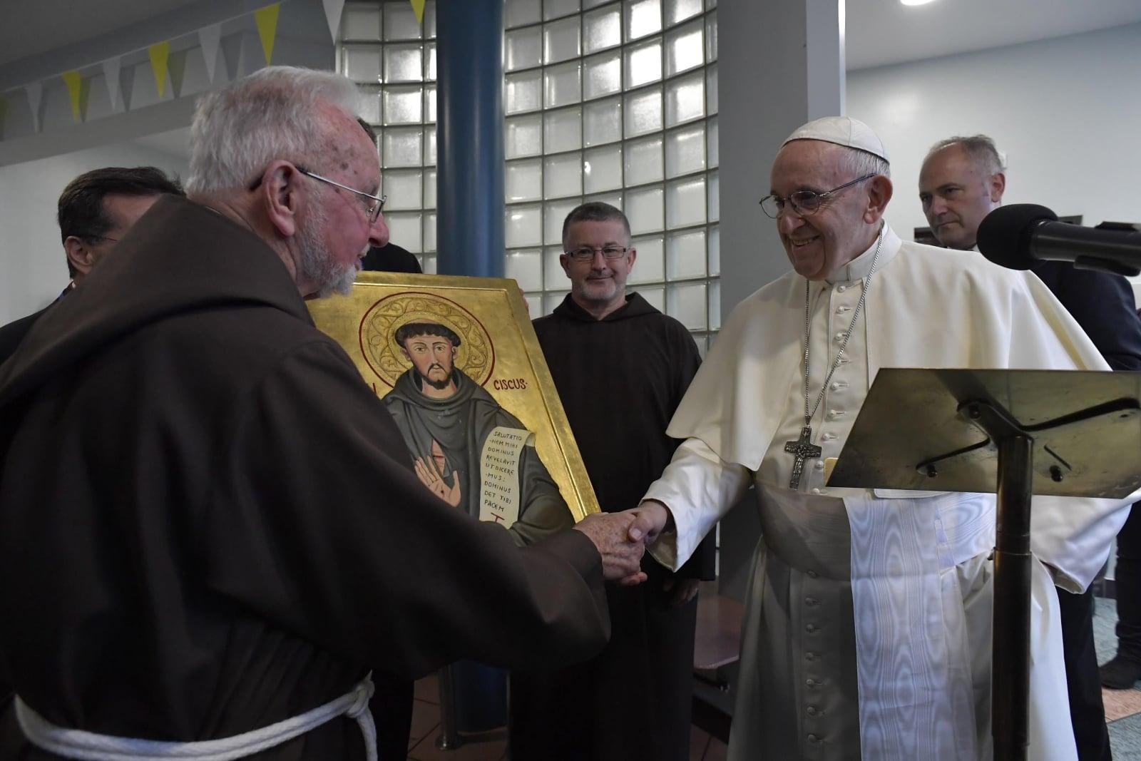Pielgrzymka papieża Franciszka do Irlandii EPA/VATICAN MEDIA