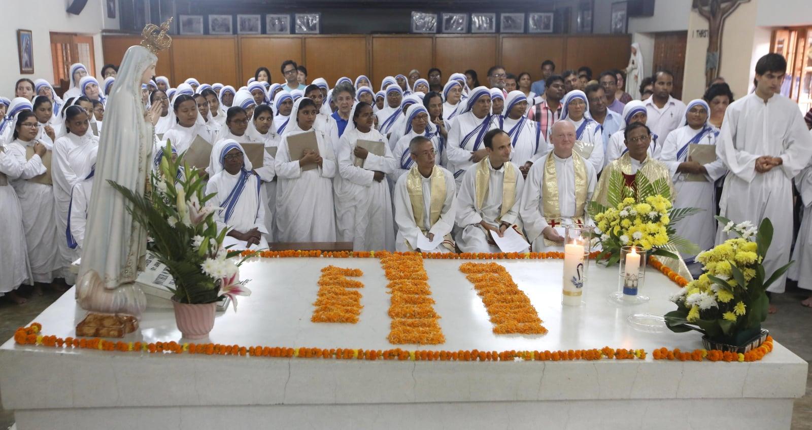 108. urodziny Matki Teresy z Kalkuty EPA/STR