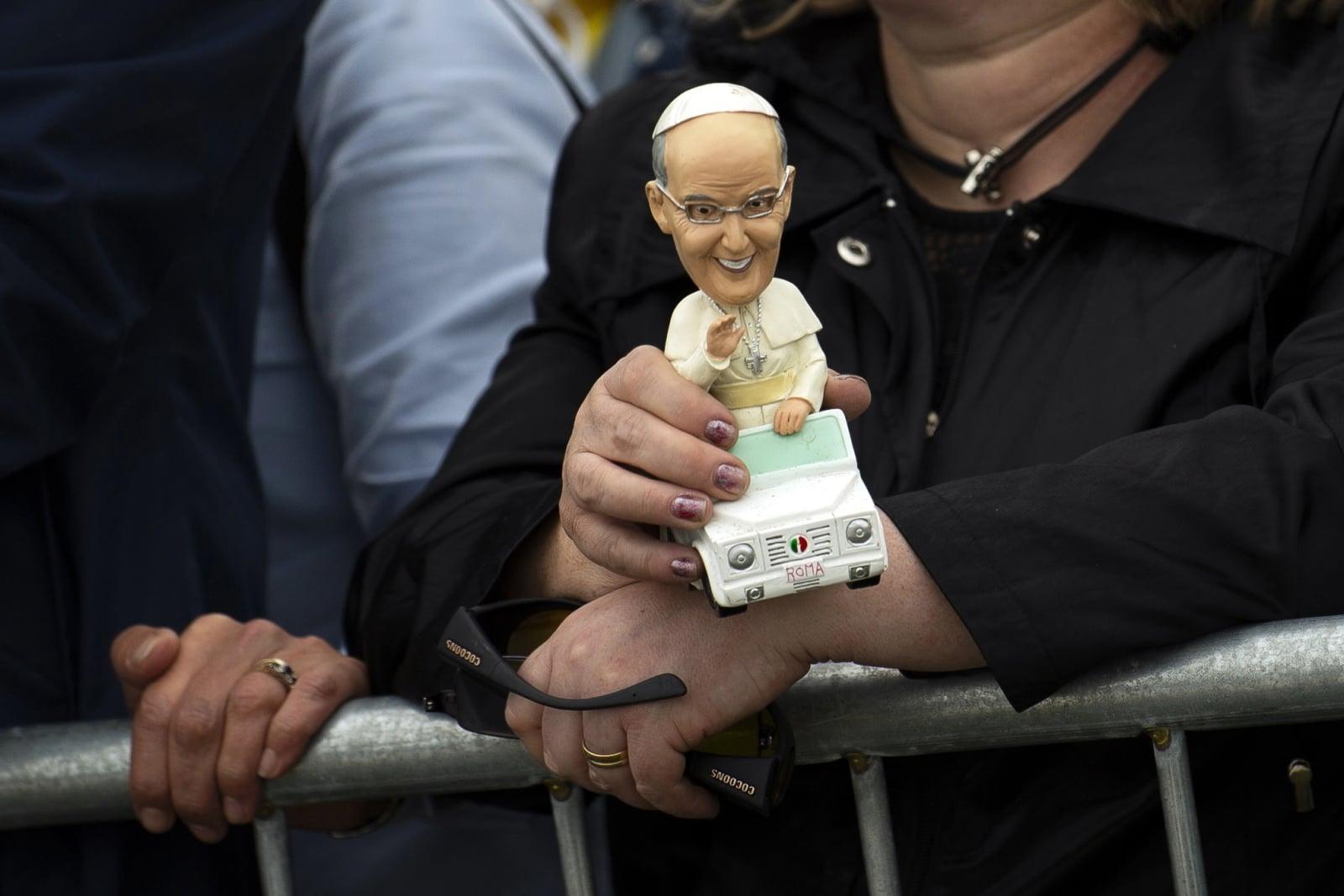 Pielgrzymka papieża Franciszka do Irlandii   EPA/WILL OLIVER