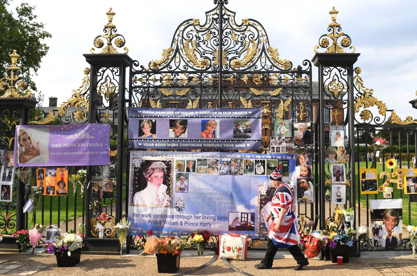 21 rocznica śmierci księżnej Diany Fot. PAP/EPA/FACUNDO ARRIZABALAGA