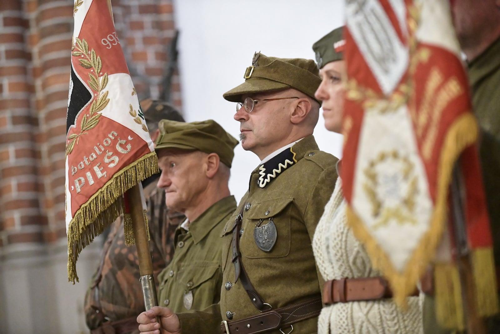Msza święta w 74. rocznicę wkroczenia na Pragę wojsk sowieckich i LWP, w ramach uroczystości poświęconych