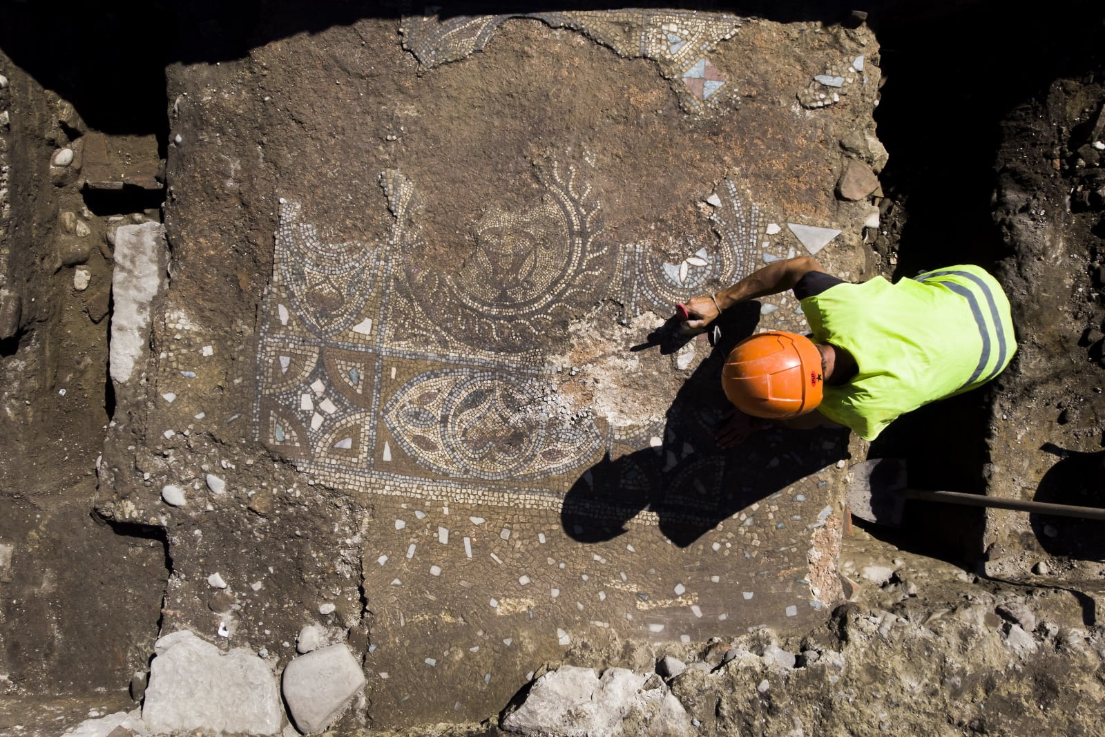W Szwajcarii odkryto starożytną mozaikę
