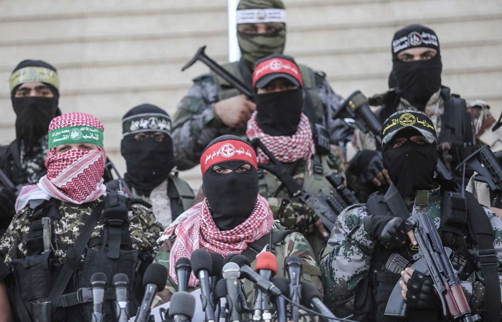 Palestyńska organizacja bojowa, Fot. PAP/EPA/HAITHAM IMAD