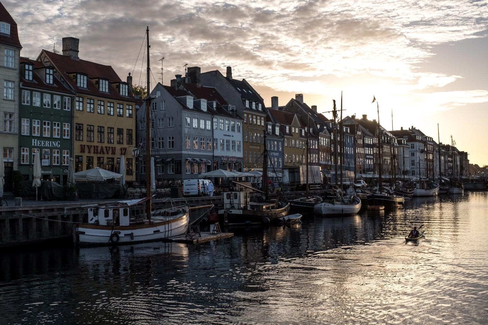 Piękny krajobraz Kopenhagi, Dania, Fot. EPA/MARTIN DIVISEK