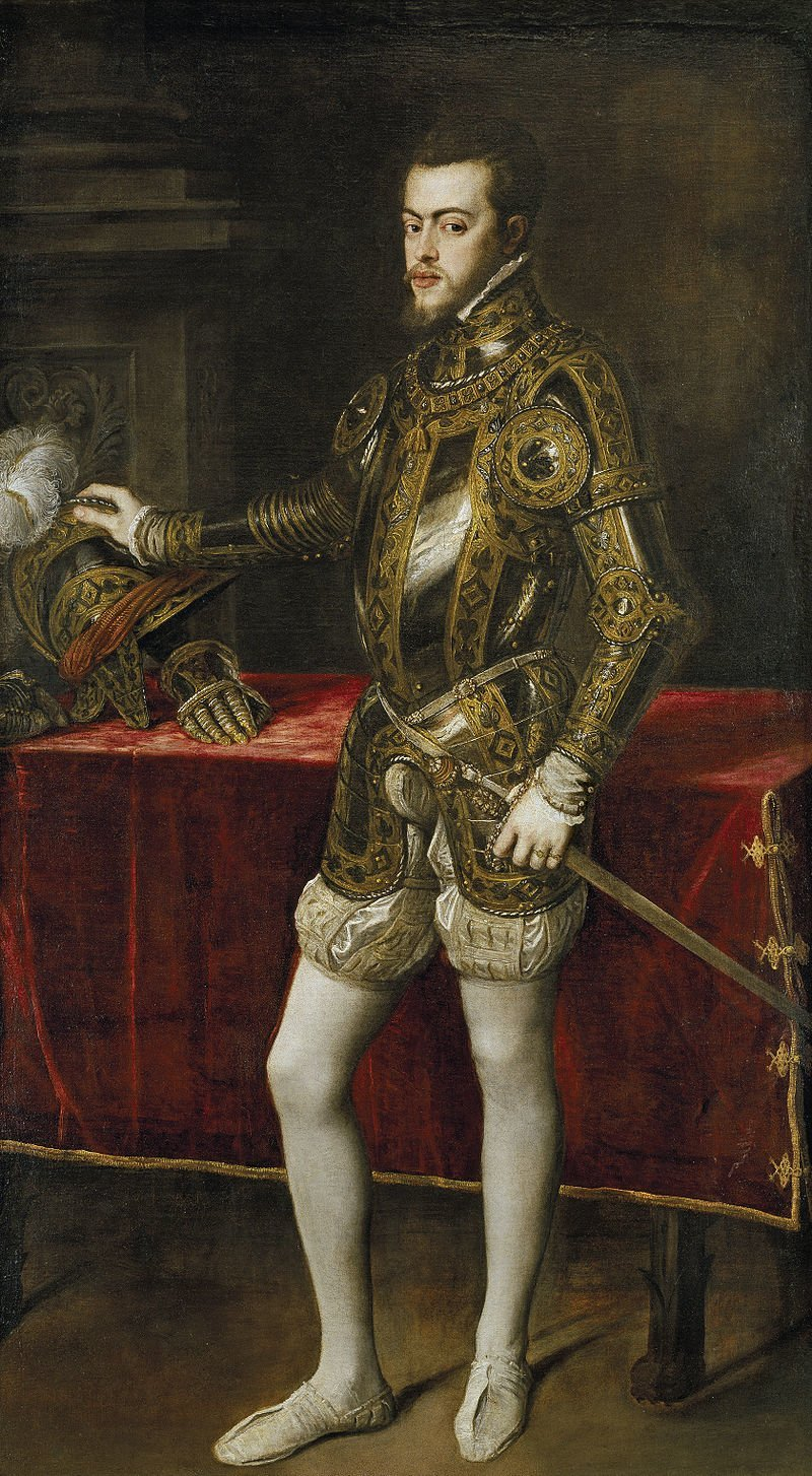 """Filip II. Ten wielki król przekazał różaniec swojemu synowi na łożu śmierci, mówiąc: """"jeśli chcesz zachowywać pokój i dobrze rządzić, zawsze miej go ze sobą i módl się na nim!""""."""