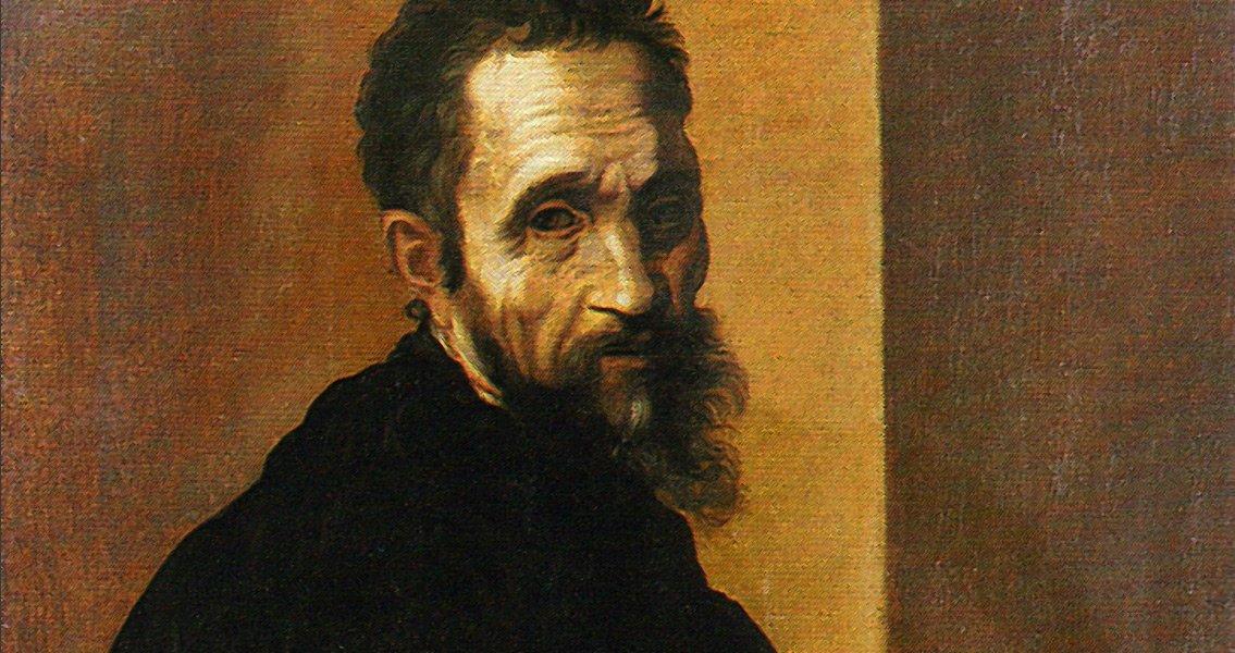 Michał Anioł. Ten słynny artysta również żarliwie modlił się na różańcu, co prawdopodobnie pozwoliło mu na tak piękne natchnienia malarskie.