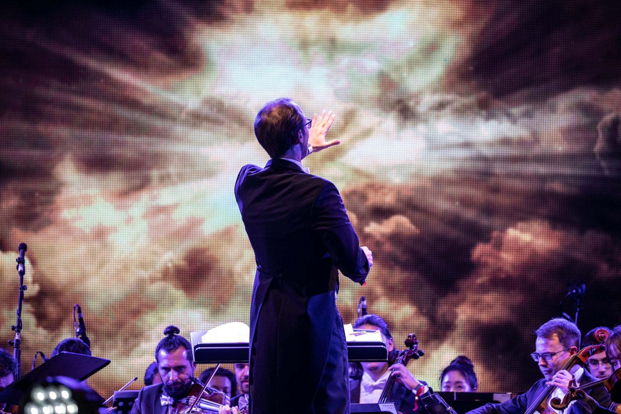 Koncert z okazji Dnia Jedności Niemiec, fot. Omer Messinger, PAP/EPA