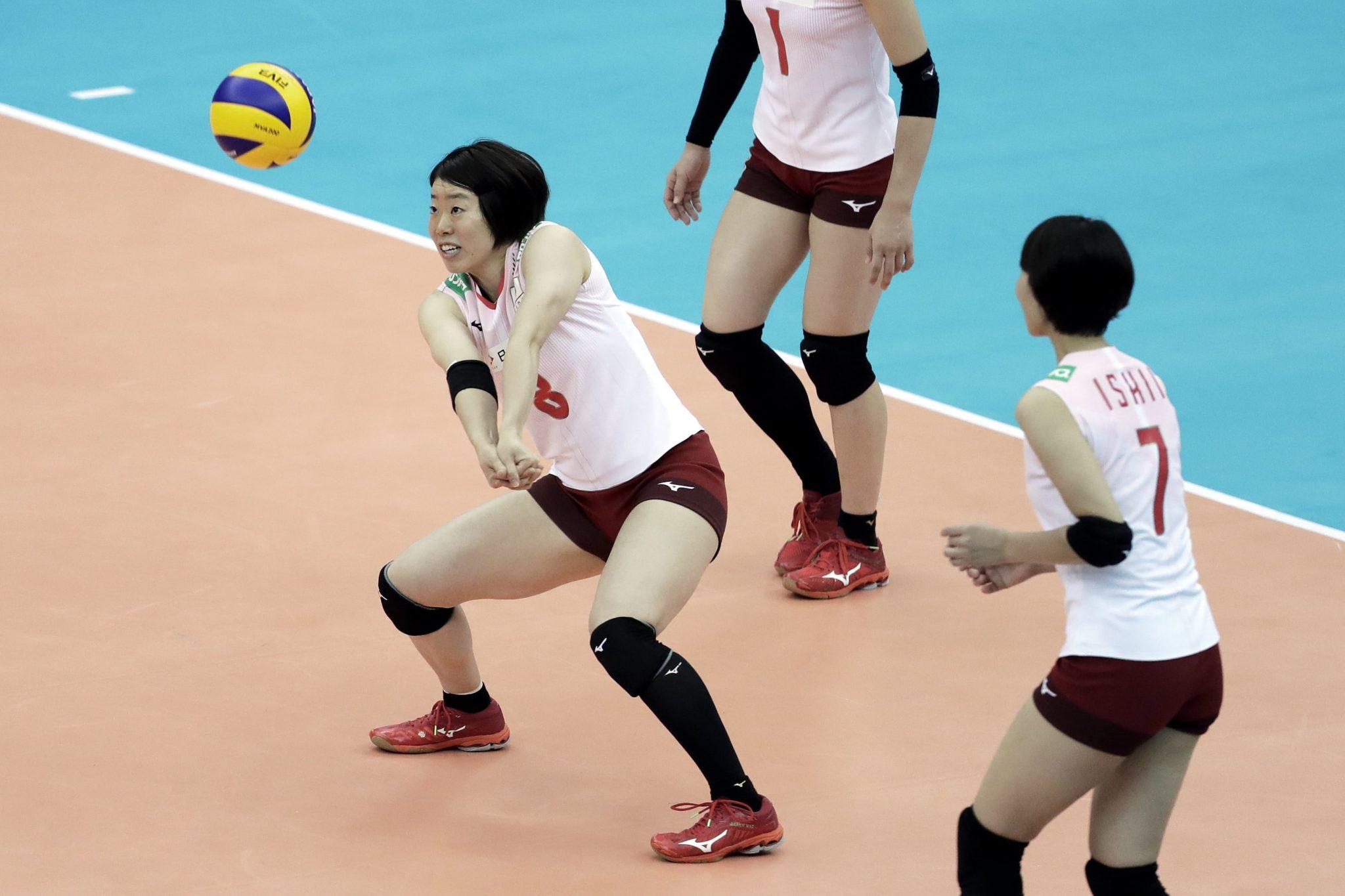 Women's World Championship Pool. Mecz pomiędzy Japonią i Serbią w Nagoi, w Japonii, fot. Kiyoshi Ota, PAP/EPA