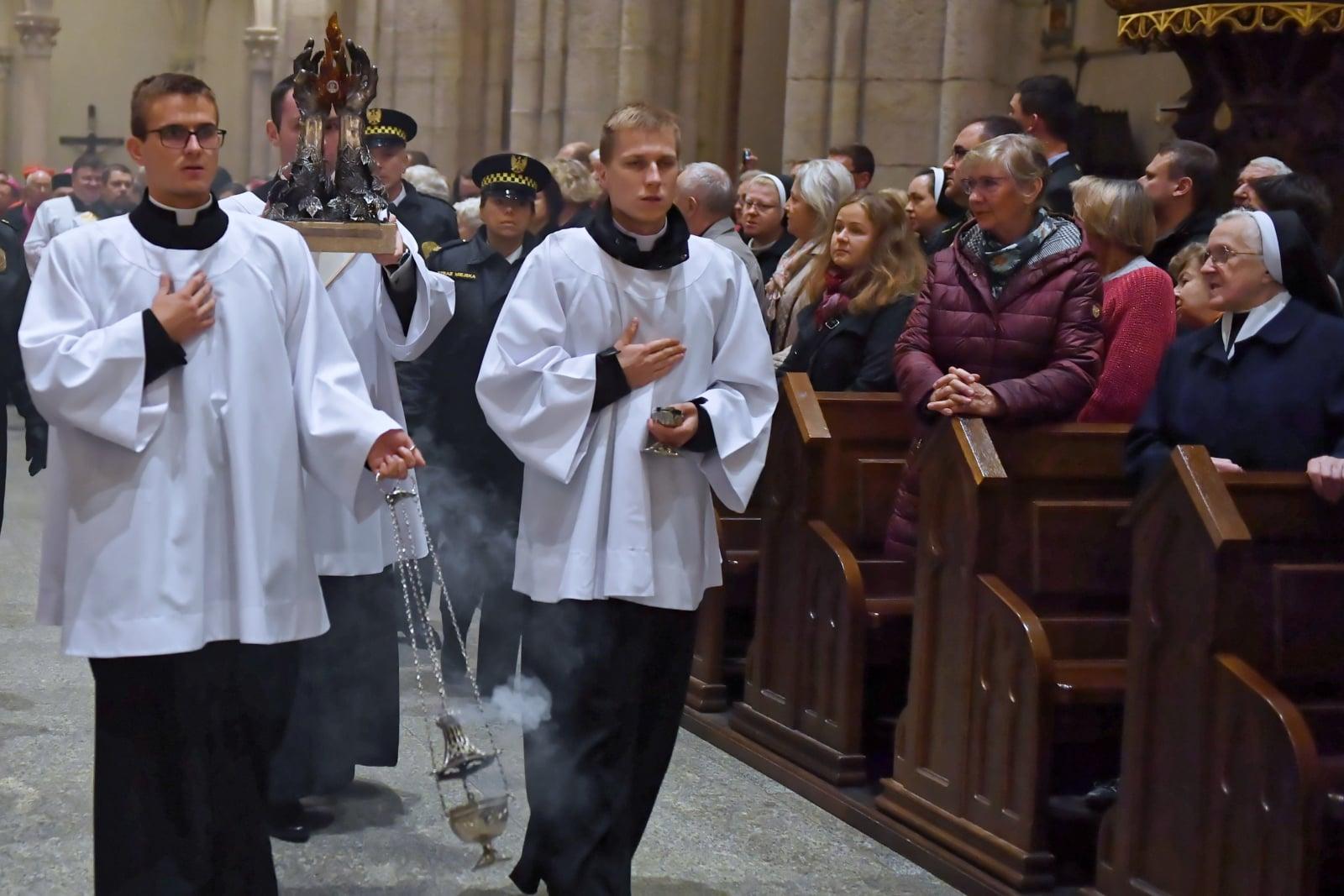 Kongres świętej Faustyny w Łodzi PAP/Grzegorz Michałowski