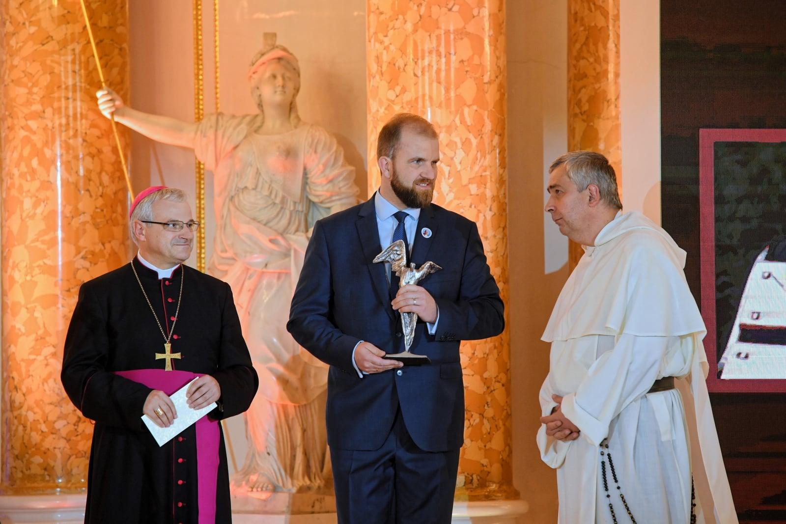 Gala nagrody Totus Tuus fot. PAP/Radek Pietruszka
