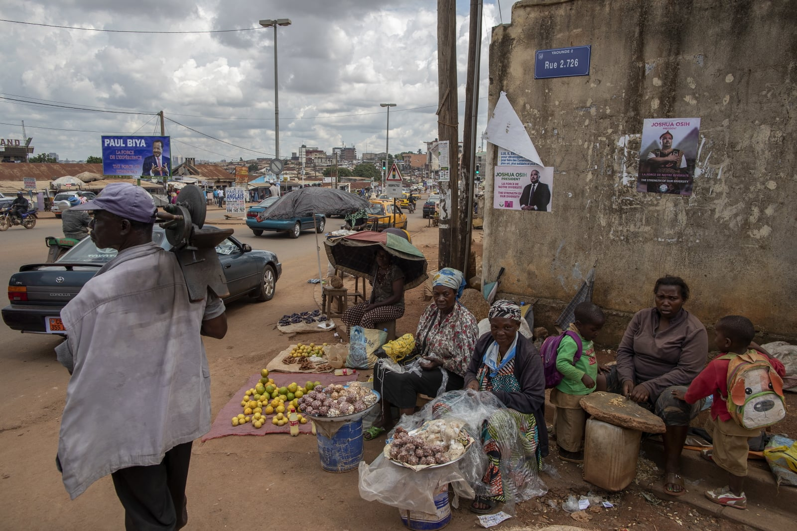 Kamerun fot. EPA/NIC BOTHMA