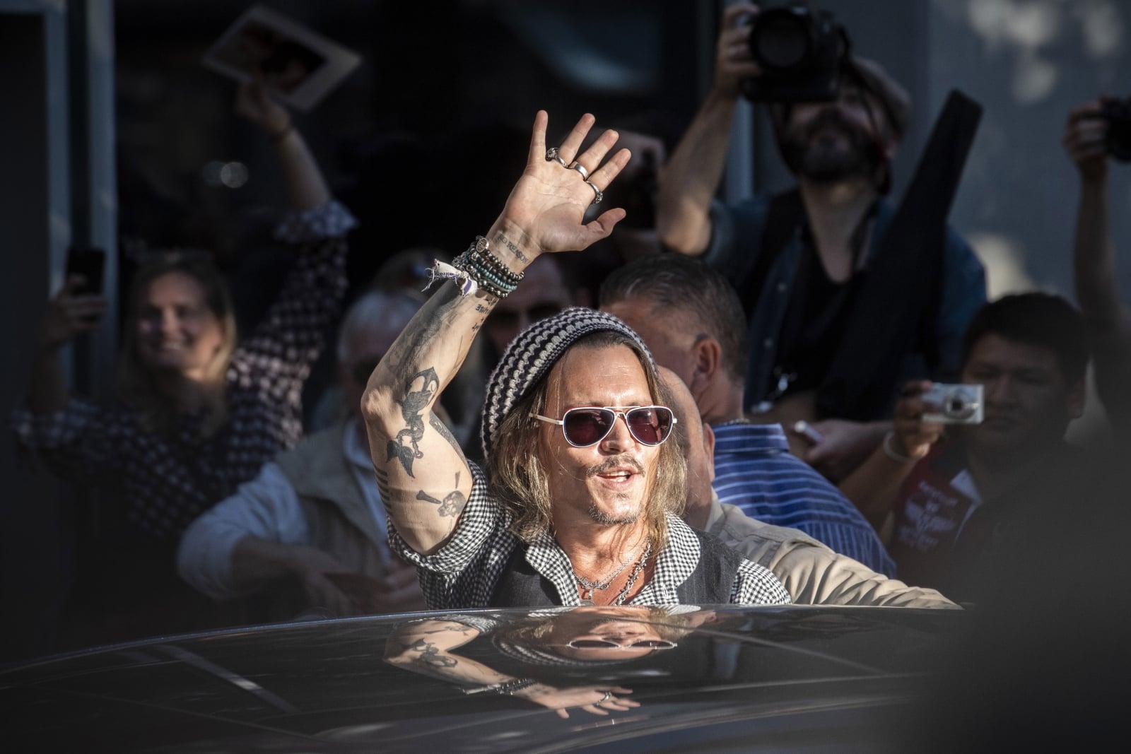 Johhny Depp na festiwalu filmowym w Zurichu  EPA/ENNIO LEANZA
