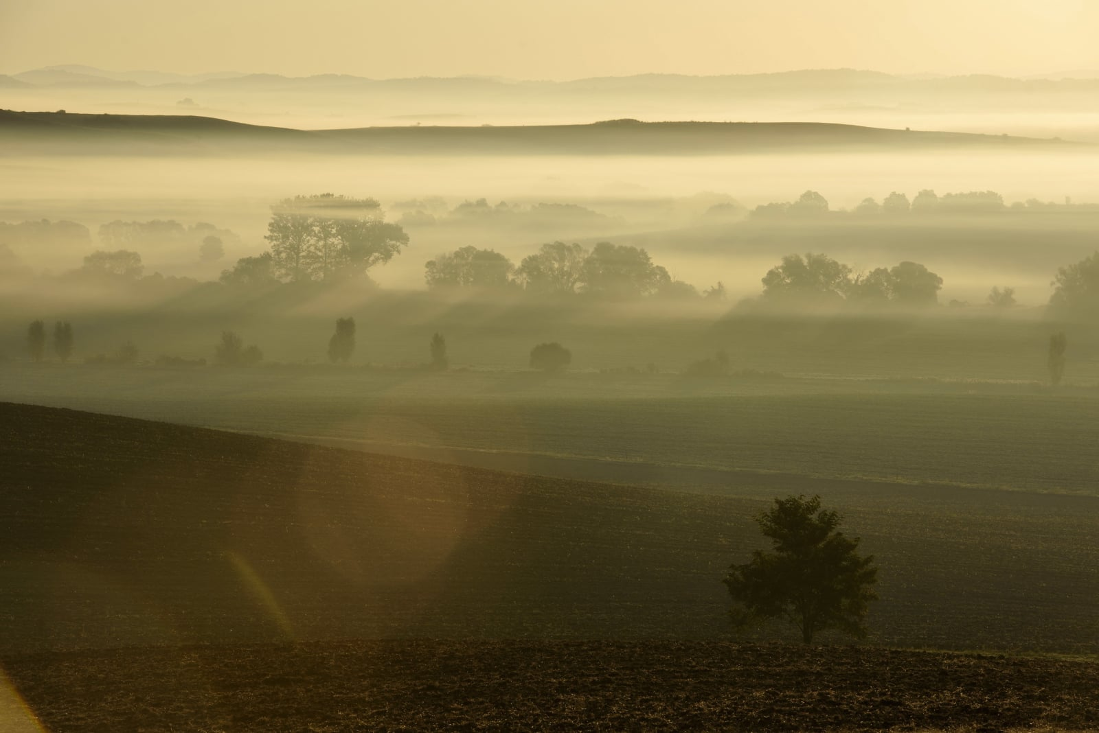 Jesień na Słowacji EPA/PETER KOMKA