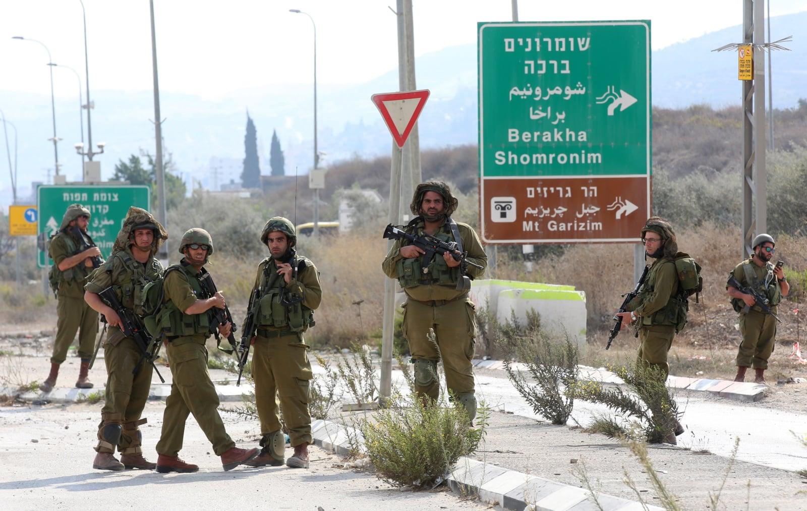 Konflikt palestyńsko - izraelski fot. EPA/ALAA BADARNEH