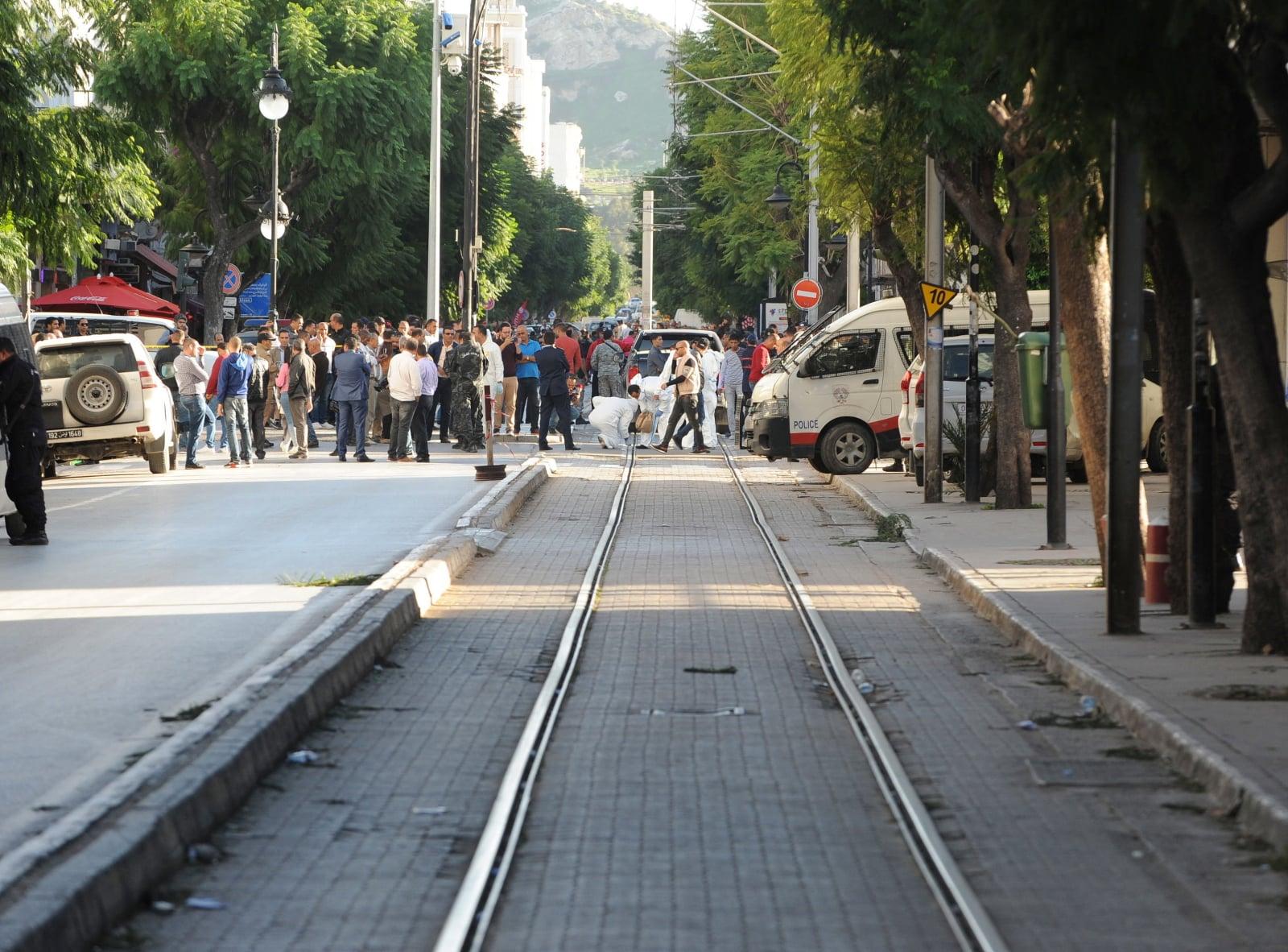 Zamach w Tunisie, Tunezja. Fot. PAP/EPA/STR