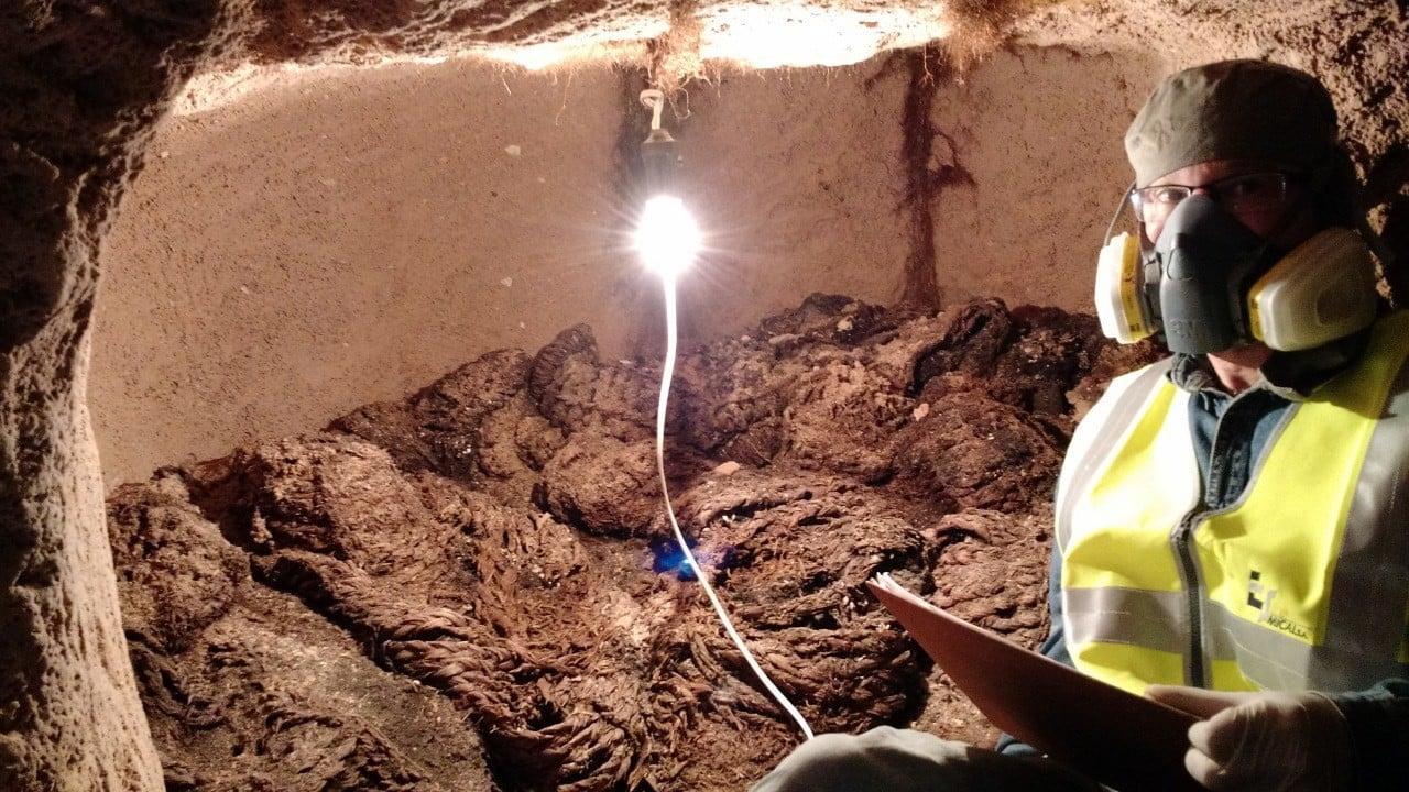 Wykopaliska w Boliwii fot. EPA/Ministry of Cultures of Bolivia