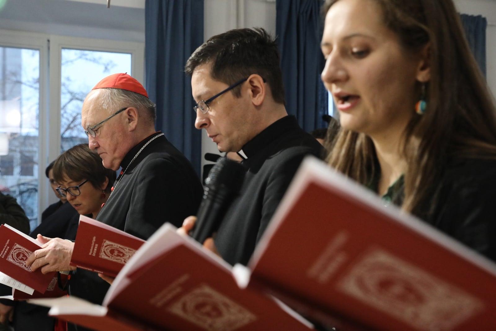 Modlitwa za ubogich w Warszawie fot. PAP/Tomasz Gzell