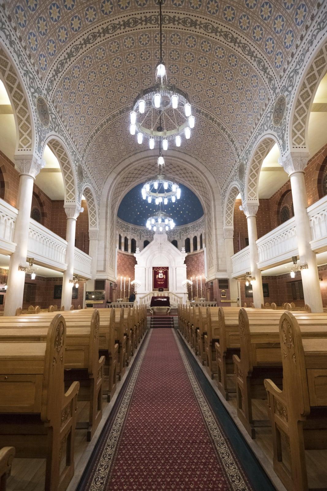 Synagoga w Lozannie fot. EPA/ADRIEN PERRITAZ