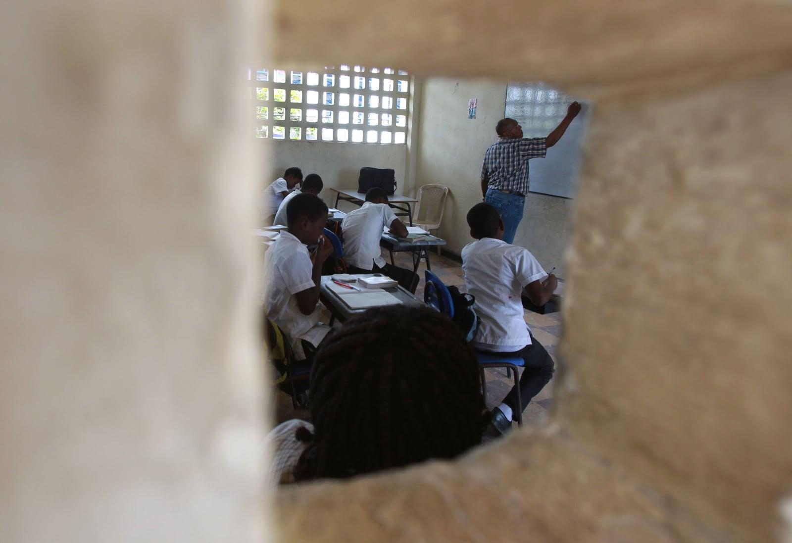 Szkoła w Kolumbii fot. EPA/Ernesto Guzmán