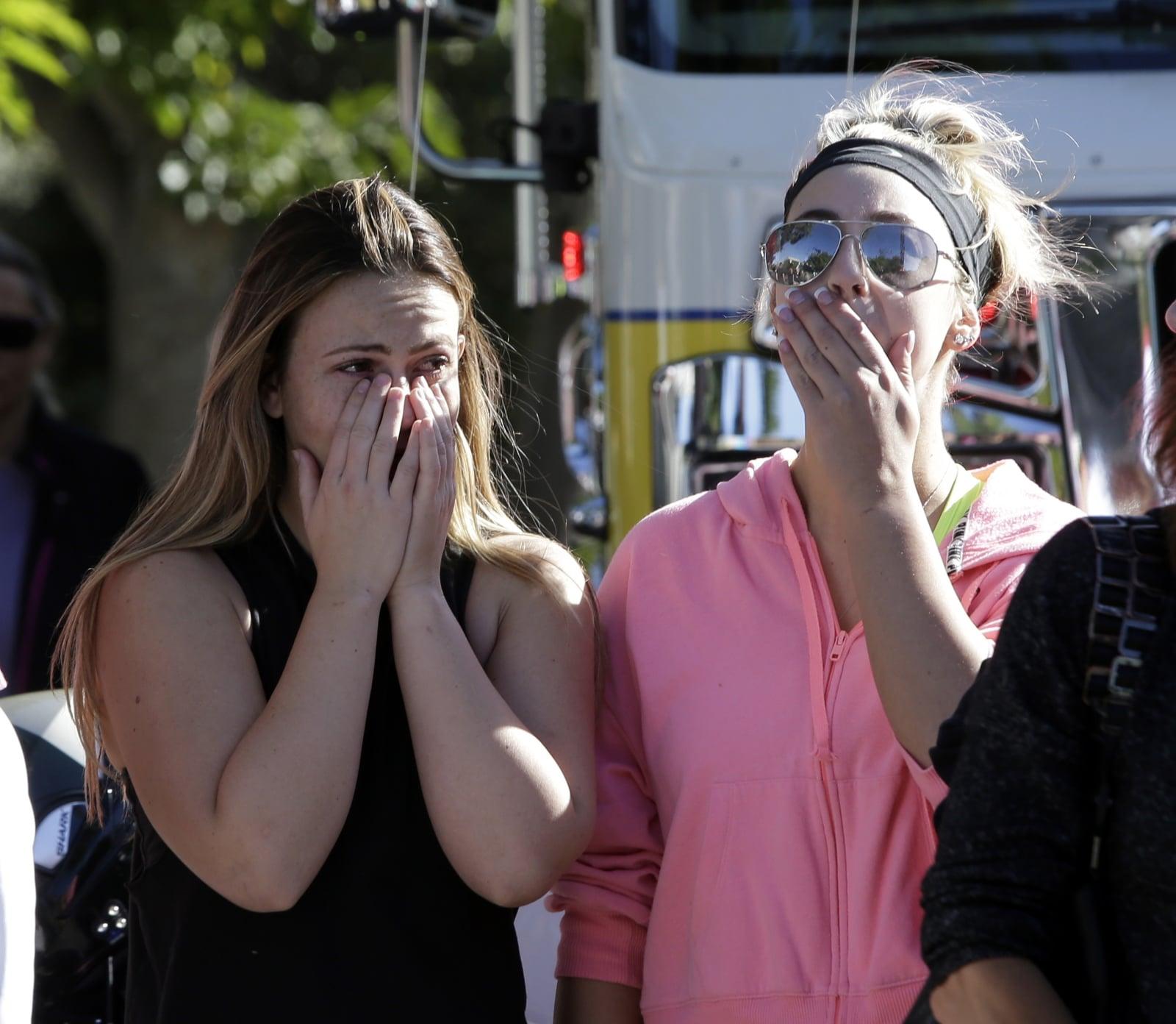 Strzelanina w Kalifornii fot. EPA/MIKE NELSON