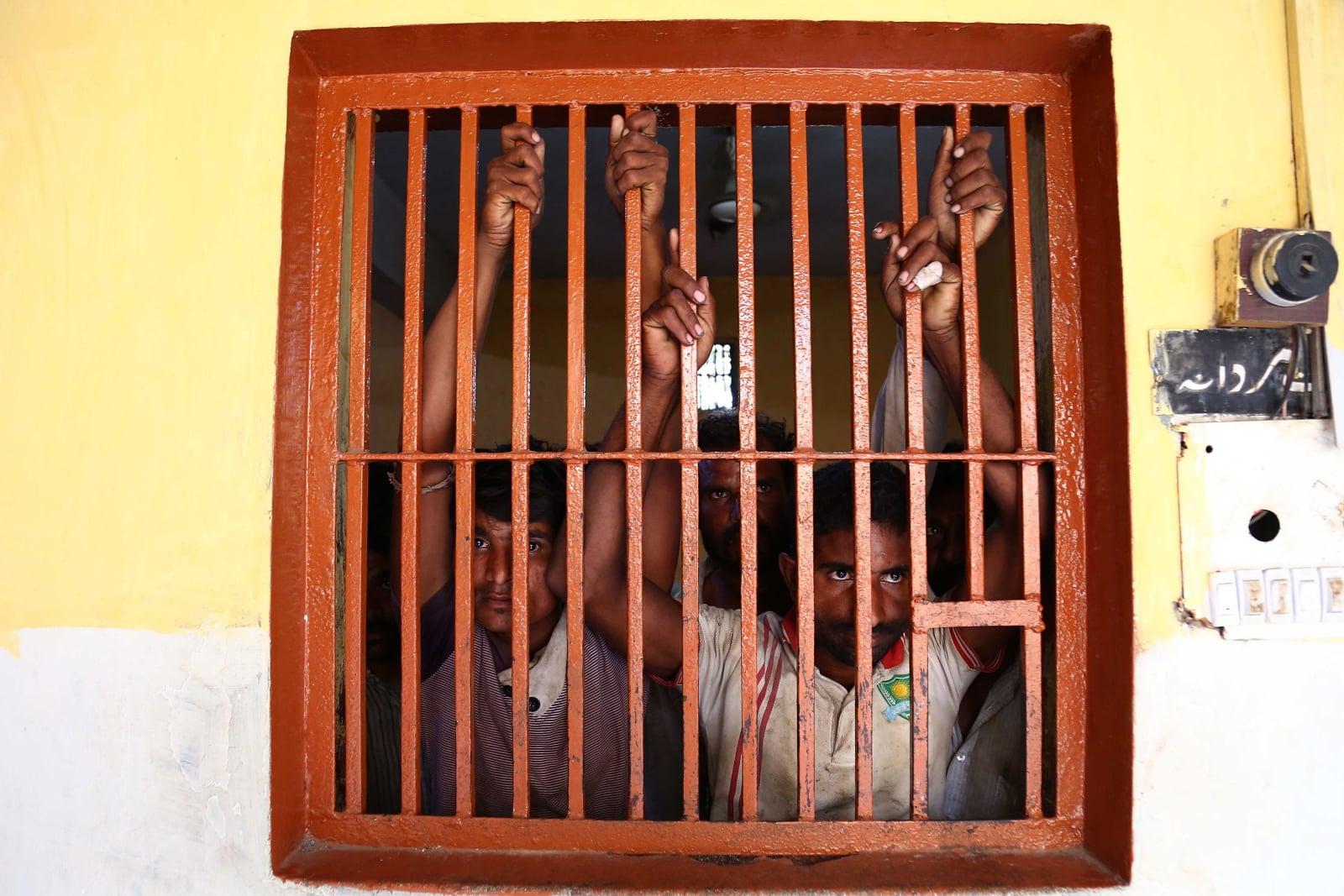 Uwięzienie rybaków w Pakistanie fot. EPA/SHAHZAIB AKBER
