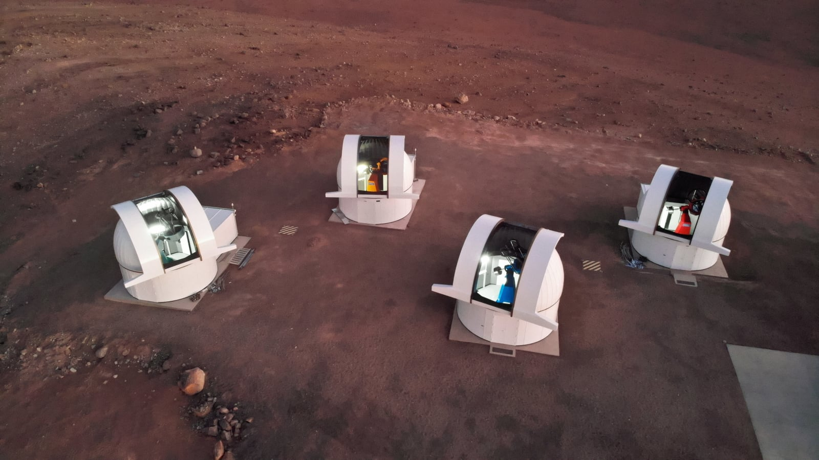 Obserwatorium astronomiczne w Chile. Fot. PAP/EPA/TAU TEC GMBH