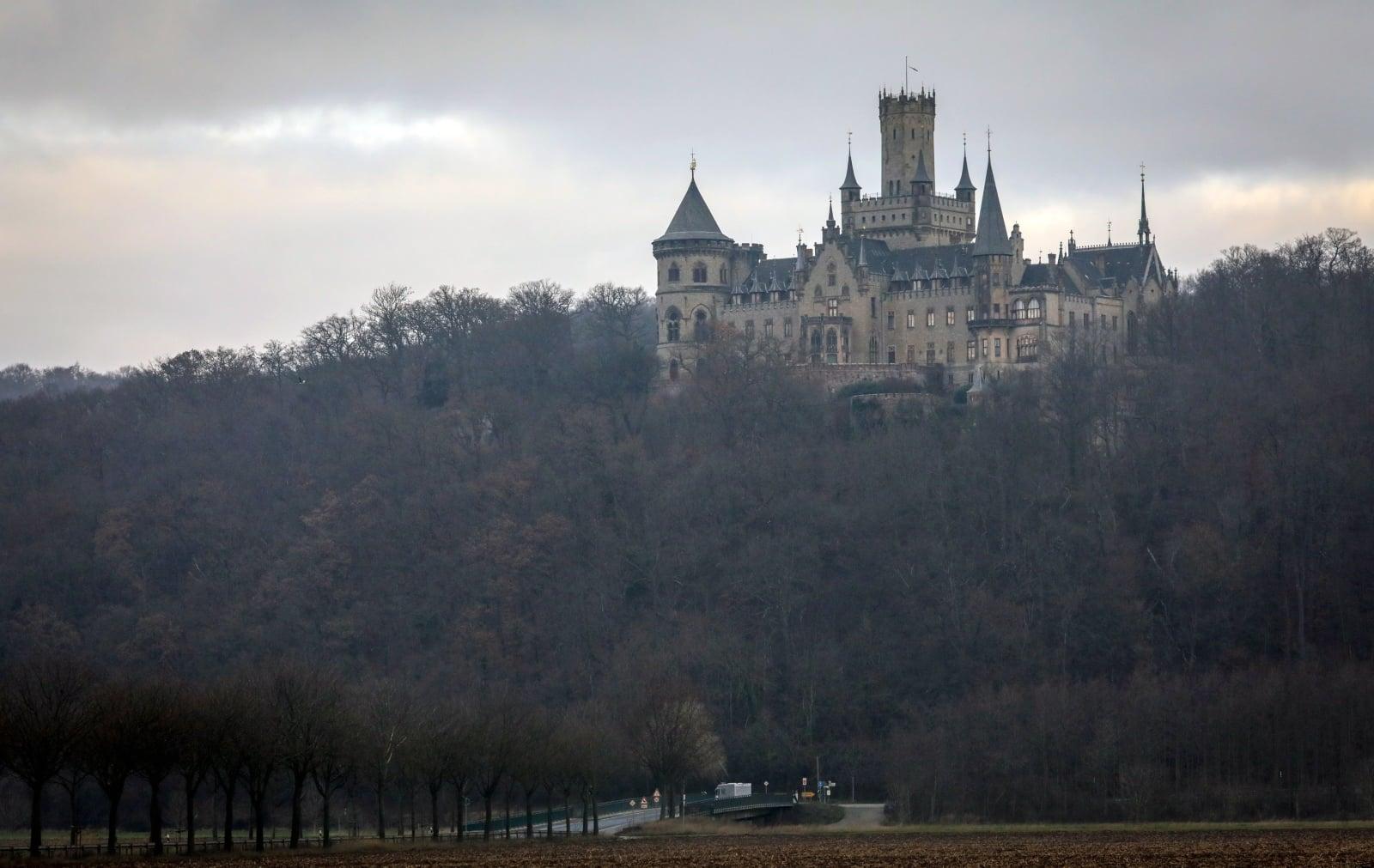 Zamek w Marienburgu fot. EPA/FOCKE STRANGMANN