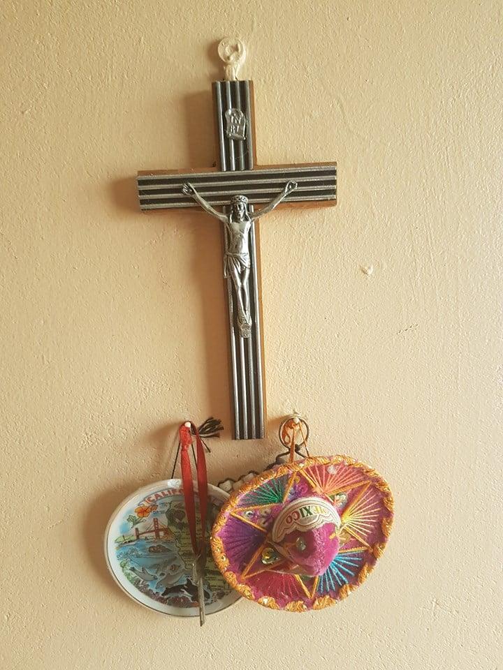 Krzyż i sombrero Fot. Maria Górczyńska