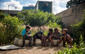 Kryzys w Wenezueli. fot. EPA/MIGUEL GUTIERREZ